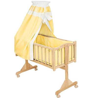 Baby's wood crib