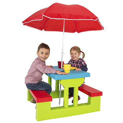 Children furniture with umbrella